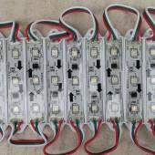 12V WS2811 Digital Addressable LED Modules 3 RGB SMD 5050 LEDs