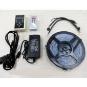 5M 6803 RGB LED Strip LPD6803 Pixel Light+RF Controller+Power Adapter