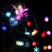 Colorful Sunflower 7ft 2M 20 LED Copper Wire String Fariy Light 5pcs