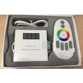 Colorful X1 LED Music Controller with RF Remote For 6803 RGB LED Strip