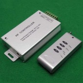 Common Anode 4 Keys Wireless Remote LED Controller DC 12V 24V