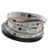 DC 12V WS2811 16ICs/M 48LEDs/M Addressable RGB LED Strip 5M