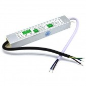 DC 24V 24W IP67 Waterproof Power Supply AC to DC LED Driver Converter Transformer