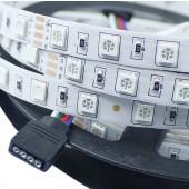 24V RGB LED Strip 5M 300 LEDs SMD5050 Non Waterproof Light