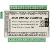 LED Controller DMX512 24CH Decoder Constant Voltage WS-DMX-24CH
