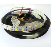 Dual Line White 5M 600 LEDs SMD 5050 LED Strip Light DC 12V