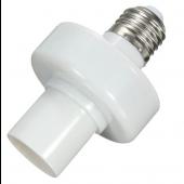 E27 Screw Wireless Control Light Lamp Bulb Holder Cap Socket Switch
