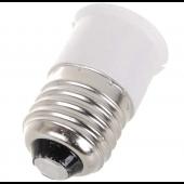 E27 To B22 Base Socket LED Halogen CFL Light Lamp Bulb Converter 10pcs