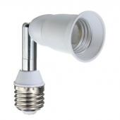 E27 To E27 Flexible Extend Base Light Lamp Adapter Converter Screw Socket 3pcs