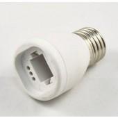 E27 to G24 LED Bulb Light Base Converter Adapter Socket Holder 4pcs