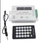 LED Light Sensor Time Control Dimmer Timing Controller 12V 24V