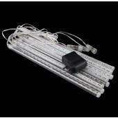 30cm 8pcs Tube LED Meteor Rain Light Snowfall Tube Tree Lighting