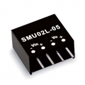 Mean Well SMU02 2W DC-DC Unregulated Converter Power Supply