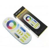 Mi.light FUT092 2.4G RGBWW 4-zone Group Control RF RGB+CCT Remote Controller