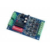 4CH RGB 350ma DMX512 Decoder Controller DC 12V-24V WS-DMX-CHL-4CH-350MA