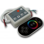 DC 12V 24V RF Wireless RGB LED Controller 8 Keys Touch Remote