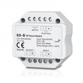 Skydance SS-B LED Controller 1CH 1.5A AC RF Switch & Push Switch