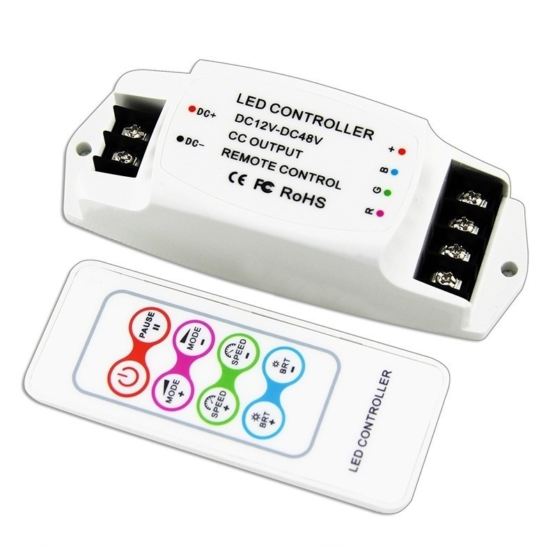 Bincolor Led Controller BC-361-CC RGB Dimmer with RF Wireless Remote