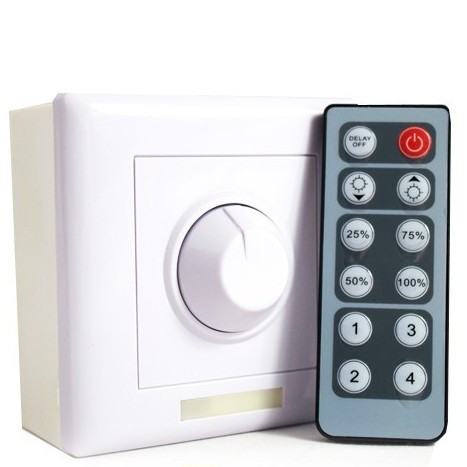 350mA Constant Current LED Dimmer Wall Mounted Switch Controller