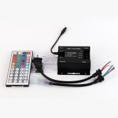 110V 220V RGB LED Strip Controller with 44 Key Remote