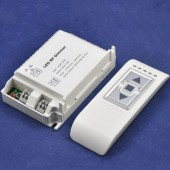 RF Remote LED Dimmer 1 Channel Trailing Edge Dimming Controller