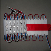 DC 12V P9883 LED Full Color Pixel Module IP68 Dual-signal Wires Wignal