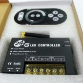 2.4G LED Dimmer RF203 RF Remote Control Controller 5V 12V 24V