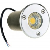 DC 24V 3W COB LED Buried Recessed Floor Lamp Waterproof Landscape Lighting