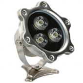 3W LED Underwater Pool Light IP68 Waterproof 12V/24V Fountain Pool LED Foodlight Lamp