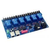 6CH Dmx512 Controller Relay Switch Control 6 Way DMX-RELAY-6CH-30A