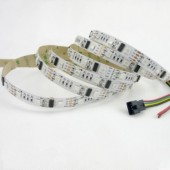 5M DC12V WS2801 Chip 48leds/m 5050 SMD RGB 16 Pixel LED Strip