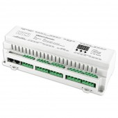 Bincolor Led Controller BC-632-DIN 32CH DMX512 12V-24V Decoder Driver