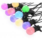 DC12V LED String Lights 5m 10 Bulbs WS2812B WS2811 IC Addressable Garden Lighting