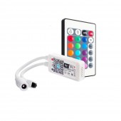 5-24V Mini LED Wifi WS2812B Controller Bluetooth Alexa Voice APP Control