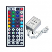 DC 12V Common Cathode RGB LED Controller With 44 Button IR Remote Control