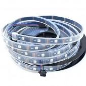 30LEDs/m APA102 RGB Smart LED Pixel Addressable Strip DC 5V 5M 150LED
