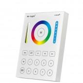 B8 Panel Sensitive Touching Remote Controller RGB+CCT LED Strip Light 8 Zone