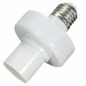 E27 Screw Wireless Control Light Lamp Bulb Holder Cap Socket Switch