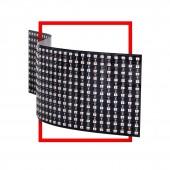 WS2812B Mini 11x44 22x22 Digital Flexible LED Panel Screen Addressable 5V