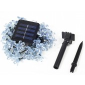 4.8M 20leds Solar Lamp Snowball Snowflake Light Waterproof LED String