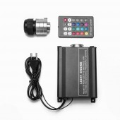 16W RGB Led illuminator Fiber Optic Lighting Engine + Remote Control