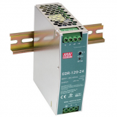 Mean Well EDR-120 120W Single Output Industrial DIN RAIL Power Supply
