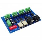 DMX512 Controller with Case Decoder 12 Channel 4 Group WS-DMX-12CH