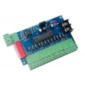 DC 5V-24V 12CH LED Decoder 12Channels DMX 3P Controller Dimmer WS-XB22-12CH-BAN