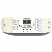 PX24500D DMX512 12V 24V 4 Channels Constant Voltage Decoder Euchips Controller