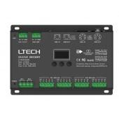 Ltech Dmx512 3A CV dmx Decoder LT-916-OLED 12~24v 16ch