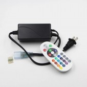 AC 110V 220V RGB Led Controller IR Remote For 5050 3528 Strip Lights