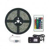 RGB 5050 LED Light Strip Decoration Lamp Wifi Control Lighting Gear