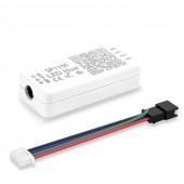 SP110E Bluetooth Controller DC5-12V For WS2812B SK6812 RGB/RGBW Pixel Light