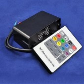 Water-resistant RF Wireless RGB LED Controller 12V 24V